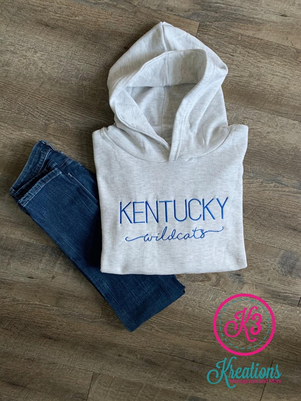 Kentucky Wildcats Varsity Relaxed Hoodie