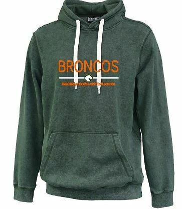 Broncos FDHS Sandwash Hoodie (FDG)