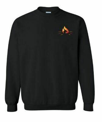 RISE Unisex Crewneck Sweatshirt with choice of logo - ADULT SIZING