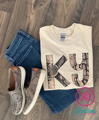 KY Snakeskin Sand Long Sleeve T-Shirt