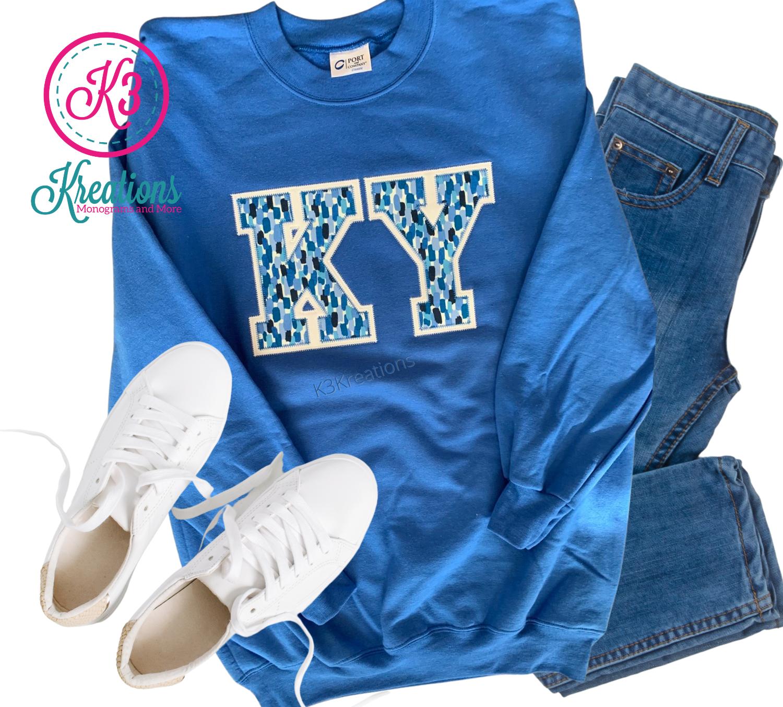 Adult KY Royal Crewneck Sweatshirt