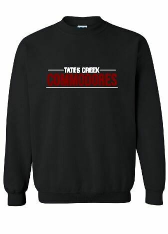 Tates Creek Commodores Unisex Crewneck - YOUTH and ADULT  (TCDT)