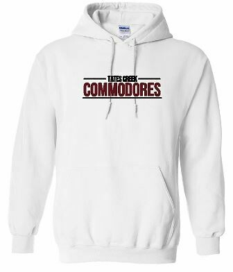 Tates Creek Commodores Unisex Hoodie - YOUTH and ADULT (HCDT)