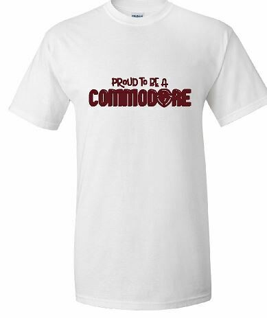 Proud To Be A Commodore Unisex Short Sleeve  YOUTH and ADULT  (TCDT)