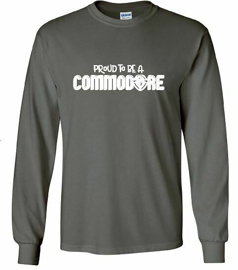 Proud To Be A Commodore Unisex Long Sleeve  YOUTH and ADULT (TCDT)