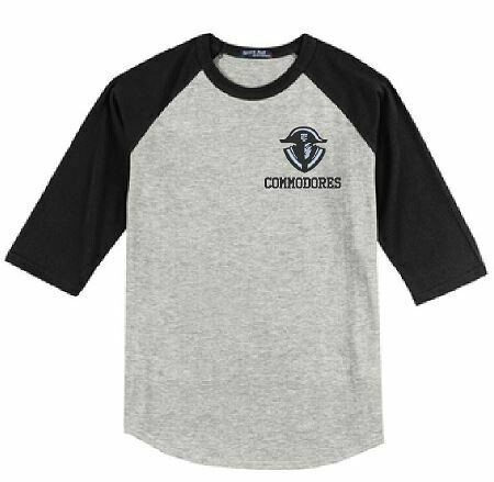 Commodores Left Chest Baseball Jersey - YOUTH and ADULT (TCDT)