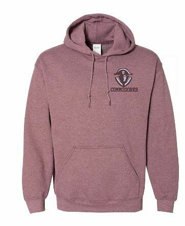 Commodores Mascot Unisex Hoodie - YOUTH and ADULT (TCDT)