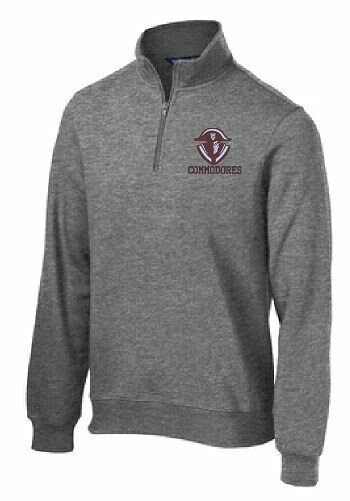 Commodores Unisex 1/4 Zip Pullover (TCDT)