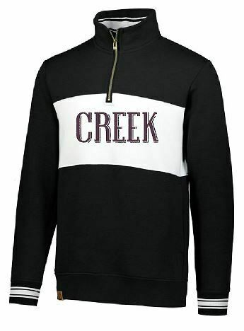 CREEK Ivy League Unisex 1/4 Zip (TCDT)
