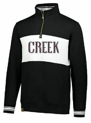 CREEK Ivy League Unisex 1/4 Zip (TCDT)