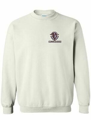 Commodores Left Chest Unisex Crewneck - YOUTH and ADULT (TCDT)