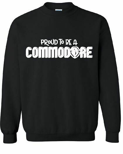 Proud To Be A Commodore Unisex Crewneck - YOUTH and ADULT  (TCDT)