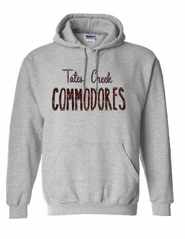 TC Commodores Unisex Hoodie - YOUTH and ADULT - Choice of Design Fabric (TCDT)