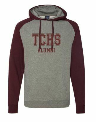 TCHS Alumni Unisex Raglan Hoodie  (TCDT)