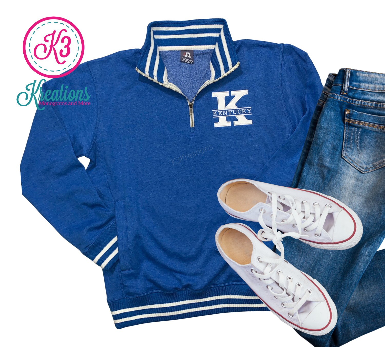 Adult Kentucky Relay Fleece Quarter-Zip Sweatshirt