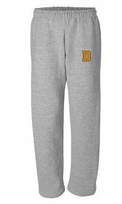 Open Bottom Sweatpants with choice of  Douglass logo (FDTL)