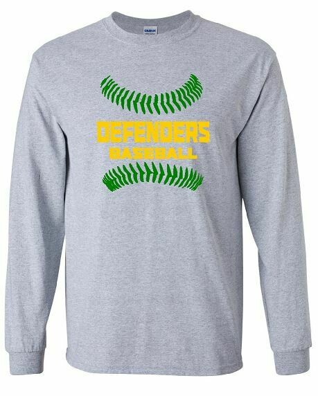 Defenders Baseball Stitches Long Sleeve (BSB)