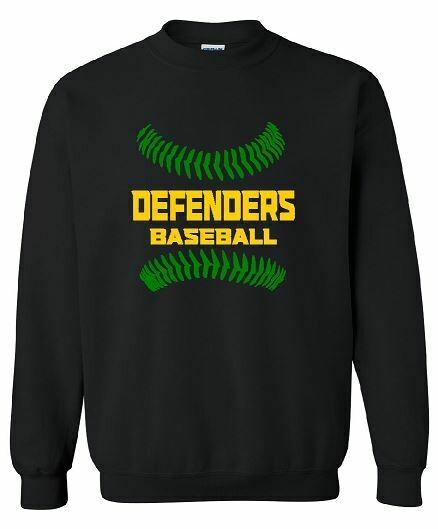 Defenders Baseball Stitches Crewneck (BSB)