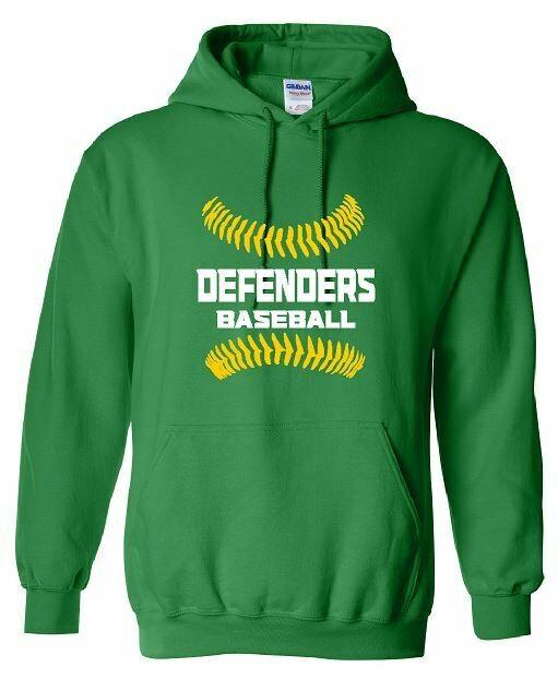 Defenders Baseball Stitches Hoodie (BSB)