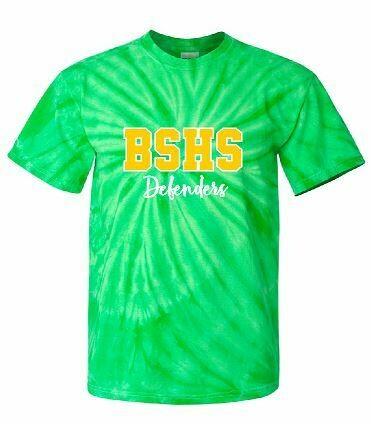 BSHS Defenders Tie-Dye Short Sleeve Tee (BSB)