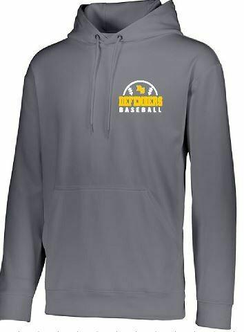 Wicking Fleece Hoodie with BS Defenders Baseball Logo (BSB)