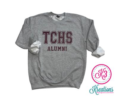 TCHS Alumni Unisex Crewneck ADULT  (TCDT)