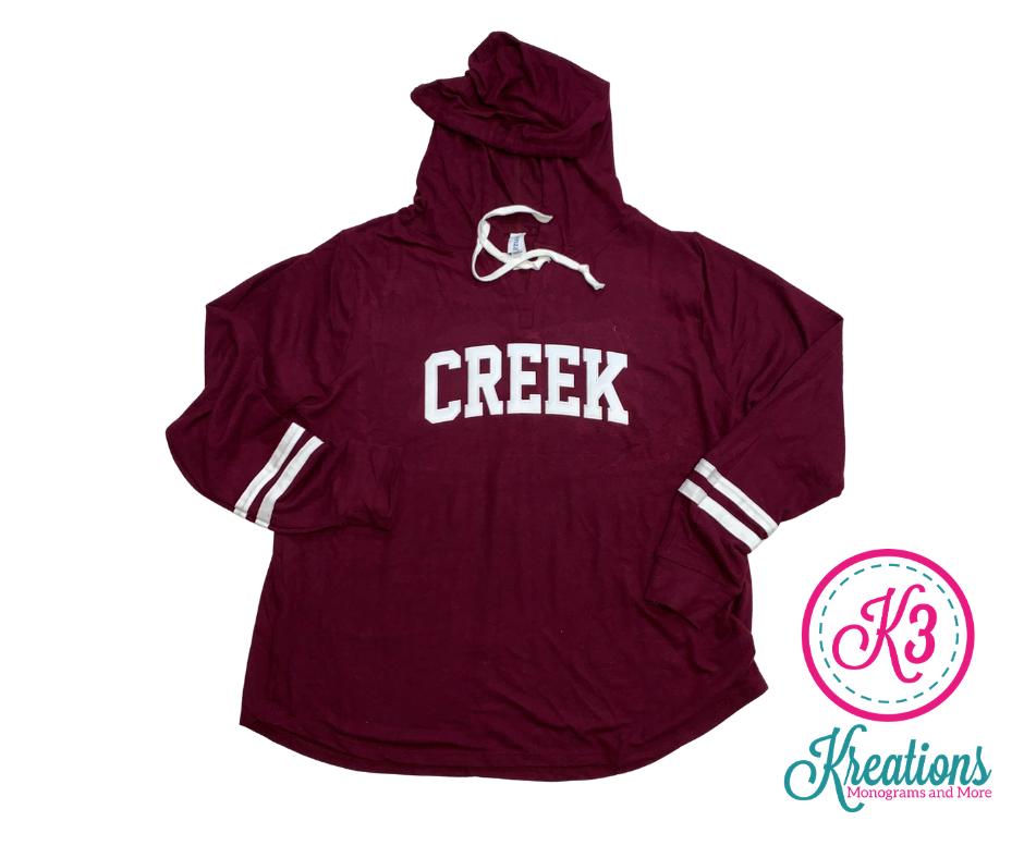CREEK Ladies Enza Hoodie - Choice of Design Fabric (TCDT)