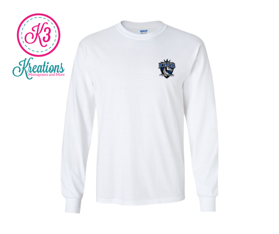 Commonwealth Kings Left Chest Applique Long Sleeve Tee