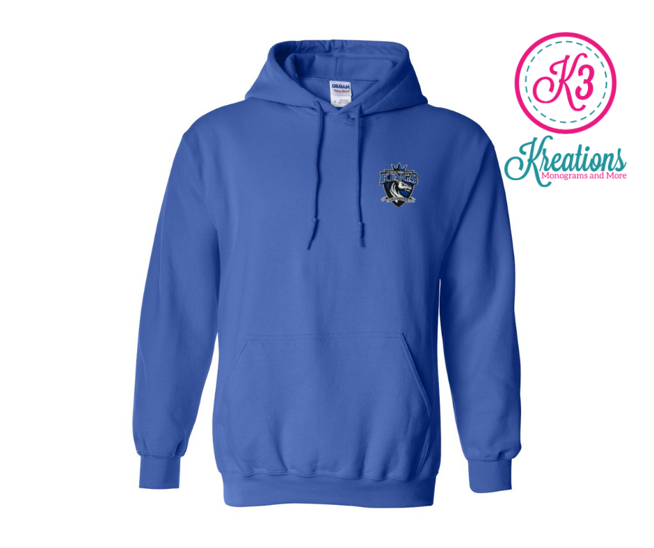 Commonwealth Kings Left Chest Applique Hoodie