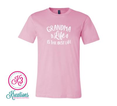 Grandma Life Short Sleeve Tee