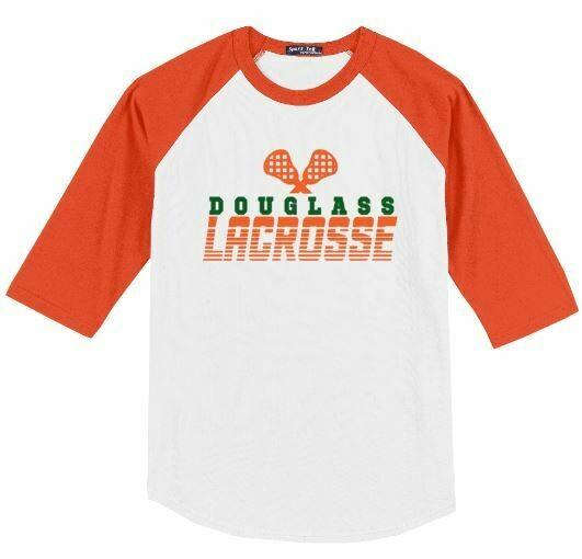 Douglass Lacrosse Sticks Baseball Jersey (FDL)