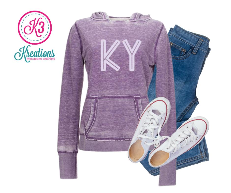 Ladies KY Zen Fleece Hooded Sweatshirt