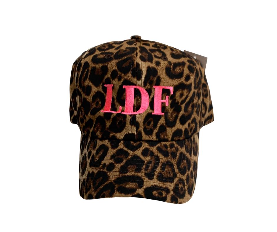 LDF Leopard Print Hat