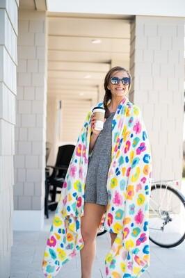 Fun Leopard Blanket