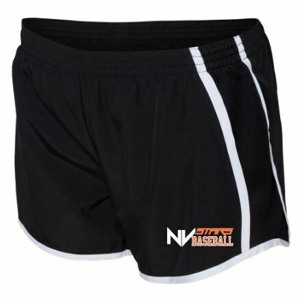Girls NV Stars Baseball Black Pulse Shorts (NVA)