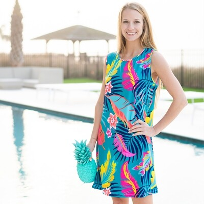 Palm Bay Sleeveless Dress