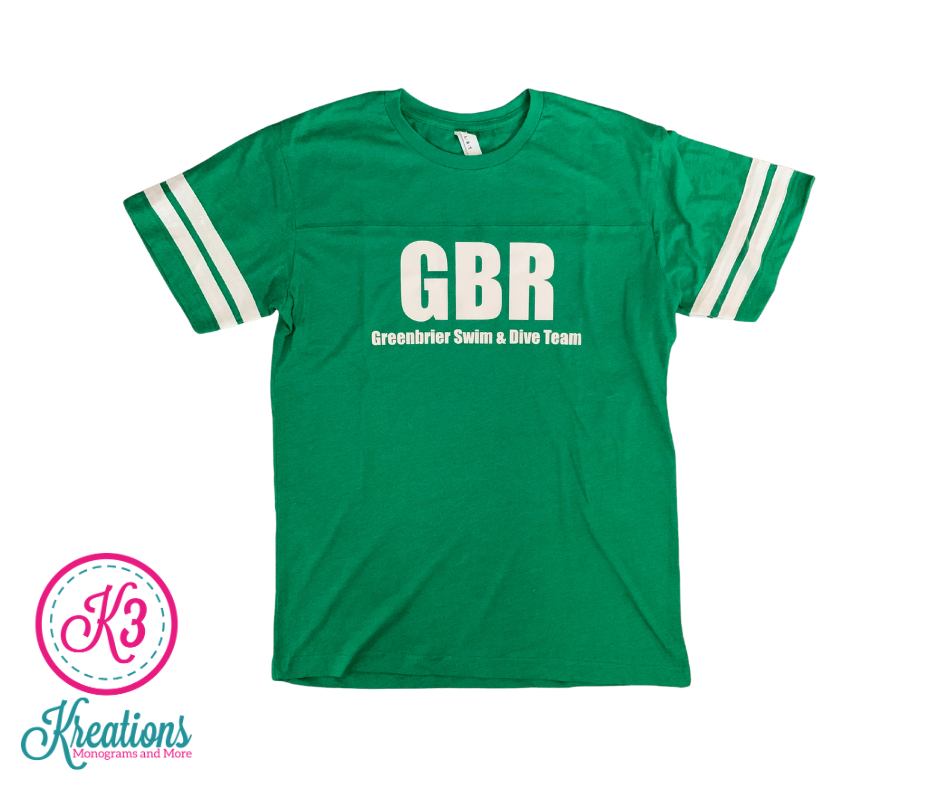 LAT Unisex Jersey with choice of Greenbrier Logo