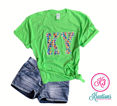Adult KY Embroidered Softstyle Short Sleeve Tee