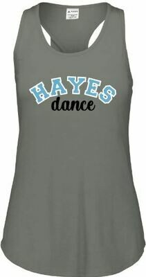 HAYES dance Augusta LUX Triblend Grey Heather Tank Top