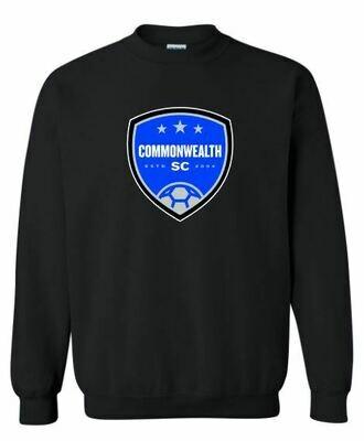 Adult Commonwealth SC Front Chest Design Crewneck Sweatshirt (CSC)