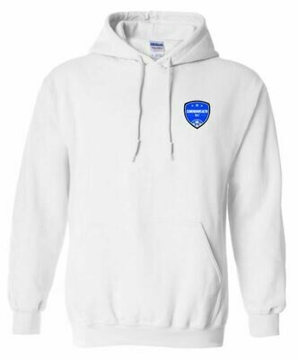 Adult Commonwealth SC Left Chest Design Hooded Sweatshirt (CSC)