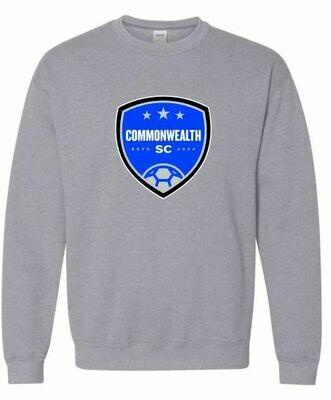 Youth Commonwealth SC Front Chest Design Crewneck Sweatshirt (CSC)