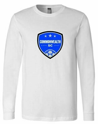 Youth Commonwealth SC Front Chest Design Long Sleeve Tee (CSC)