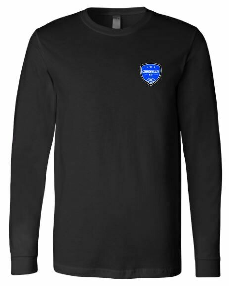 Adult Commonwealth SC Left Chest Design Long Sleeve Tee (CSC)