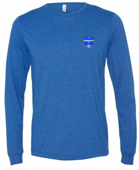Youth Commonwealth SC Left Chest Design Long Sleeve Tee (CSC)