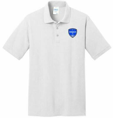 Mens Commonwealth SC Left Chest Design Core Blend Pique Polo (CSC)