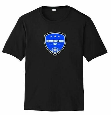Mens Commonwealth SC Front Chest Design Dri Fit Short Sleeve Tee (CSC)