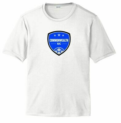 Youth Commonwealth SC Front Chest Design Dri Fit Short Sleeve Tee (CSC)