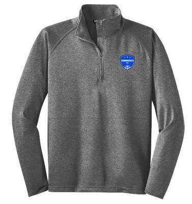 Mens Commonwealth SC Sport-Tek® Sport-Wick® Stretch 1/2-Zip Pullover (CSC)