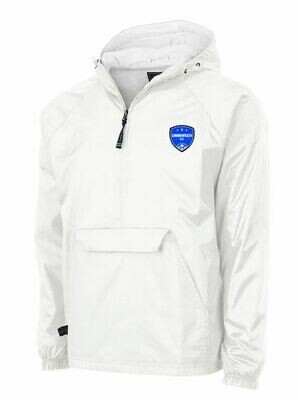 Unisex Charles River Commonwealth SC 1/2 Zip Lined Rain Pullover (CSC)